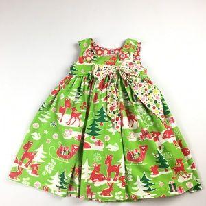 Jelly The Pug 24 MO Christmas Dress